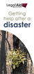 Getting help after a disaster
